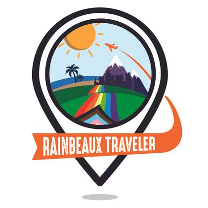 RainBeaux Traveler logo