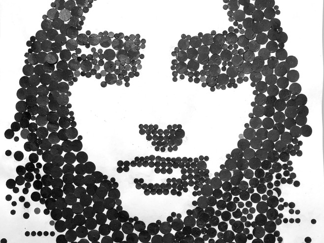 First Person Plural. Portraits. Paper. #