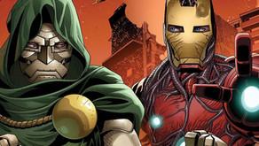 EXCLUSIVO: el equipo iron man y Doctor Doom luchará contra Santa Claus en King in Black One-Shot