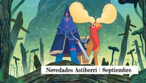 Novedades Astiberri | Septiembre 2021