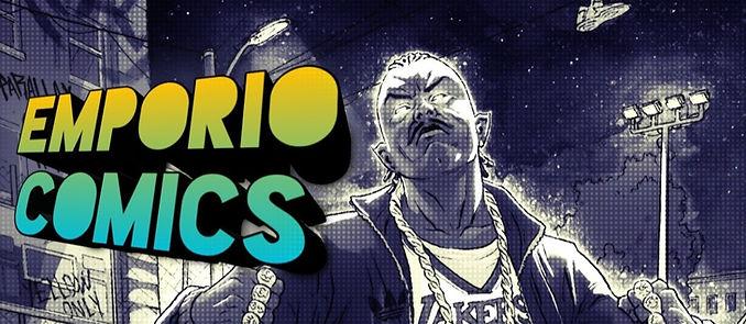 Banner Emporio Comics