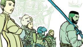 Lanzamiento de Kickstarter para el primer cómic que brilla en la oscuridad del mundo