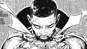 Spawn: Todd McFarlane estrena la versión en blanco y negro de la portada tributo a Chadwick Boseman.