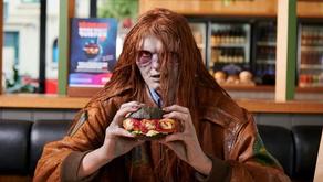 La temporada 10 de Walking Dead obtiene una hamburguesa de edición limitada hecha de cerebros reales