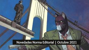 Novedades Norma Editorial  Octubre 2021