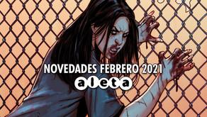 Novedades Aleta Ediciones | Febrero 2021