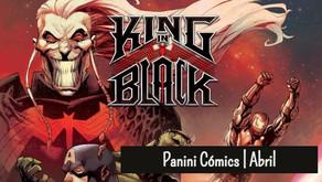 Novedades Panini Comics | Abril