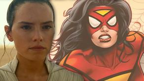 Daisy Ridley de Star Wars quiere interpretar a Spider-Woman de Marvel