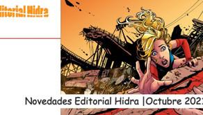 Novedades Editorial Hidra | Octubre 2021