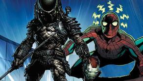 Predator caza a los héroes de Marvel en nuevas portadas de cómics