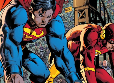 ¿Cómo de  rápido se supone que es Superman en DC Comics?