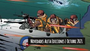Novedades Aleta Ediciones Octubre 2021