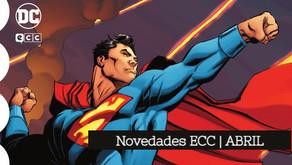 Novedades ECC Cómics | Abril
