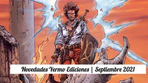 Novedades Yermo Ediciones | Septiembre 2021