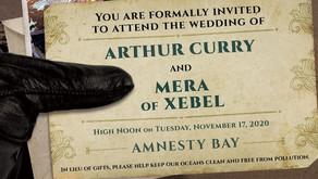 DC invita a los lectores a la inminente boda de Aquaman y Mera