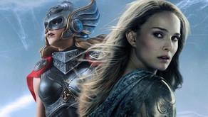 La imagen del set Love & Thunder revela los poderosos brazos de Thor de Natalie Portman