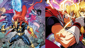Variant Covers de Beta Ray Bill de Marvel por Coello & Conley (Exclusivo)