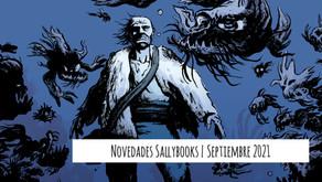 Novedades Sallybooks | Septiembre 2021