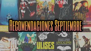 Recomendaciones Septiembre