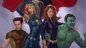Artista de MCU recrea al elenco de cómo conocí  a vuestra madre como Héroes Marvel