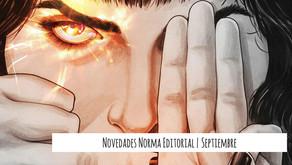 Novedades Norma Editorial | Septiembre 2021