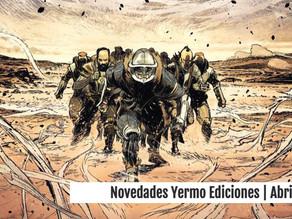 Novedades Yermo Ediciones | Abril
