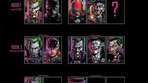 DC REVELA LAS CUBIERTAS VARIANTES PREMIUM PARA BATMAN: 3 Jokers
