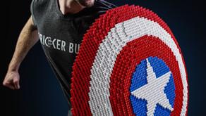 Los fans de Marvel pueden construir su propio escudo LEGO Capitán América