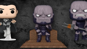 Justice League Snyder Cut Darkseid & Superman Funko Pops lanzado en color