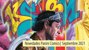 Novedades Panini | Septiembre