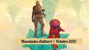 Novedades Astiberri | Octubre 2021