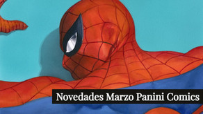 Novedades Panini Comics | Marzo
