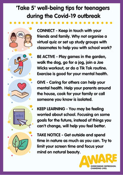 Tips for teenagers during covid-19 outbr