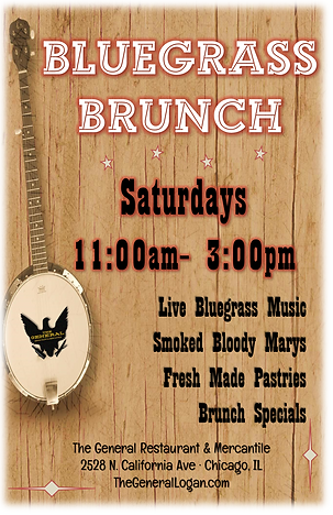 The General Logan Square bluegrass brunch