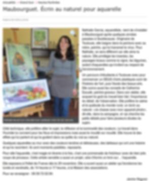 Article presse Maubourguet