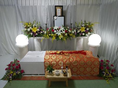 自宅でのお見送り葬儀が増えています。