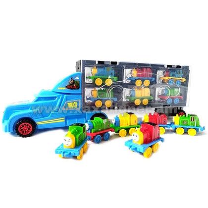 """Բեռնատար մեքենա """"Томас"""" գնացքներով"""