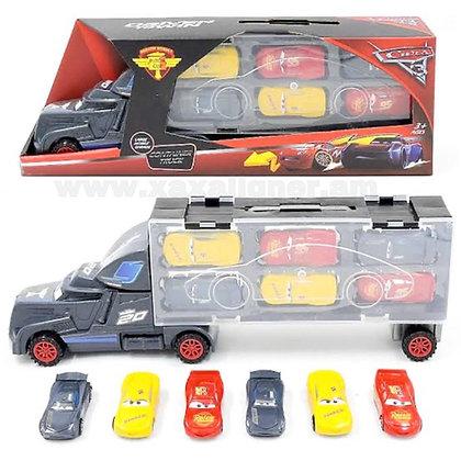 """Բեռնատար մեքենա """"Тачки"""" փոքրիկ մեքենաներով"""