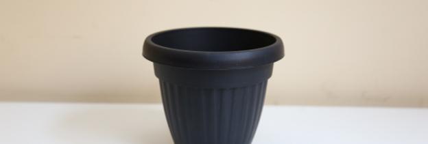 Vaso Imperial com Borda nº 15 Preto
