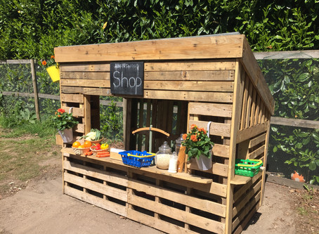 New shop at Abbotswood nursery!