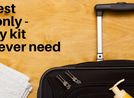 VIDEO - The Best Travel Toiletry Kit and the Only One You'll Ever Need