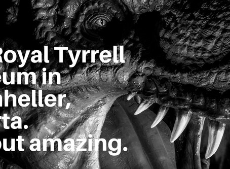 VIDEO: Royal Tyrrell Museum in Drumheller, Alberta