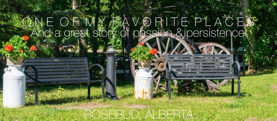 Rosebud, Alberta - Prepare to be Amazed!