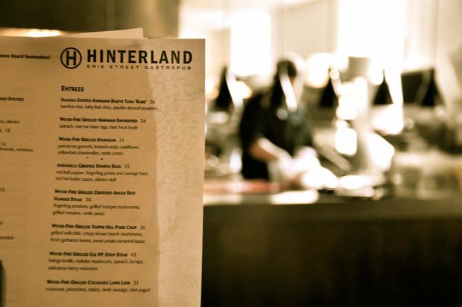 The Engine Room : An Evening At Hinterland