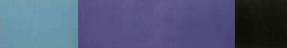untitled, acrylic polymer on canvas, 60cm. x 440cm. Dina Grossman Moshe