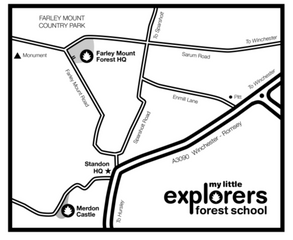 Directions to My Little Explorers     Farley Mount