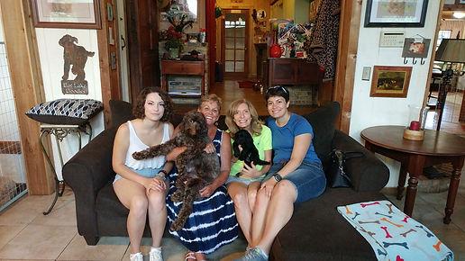 Marcia, fudgetta Roseanne H and pup.jpg