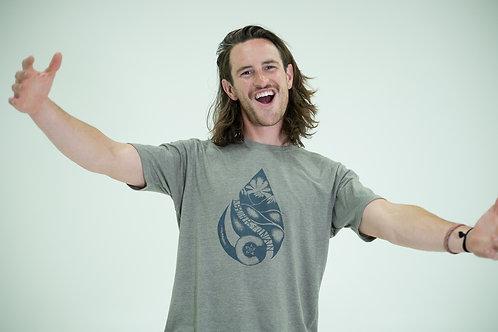 T-Shirt / Colorado Waterdrop / Ash Grey