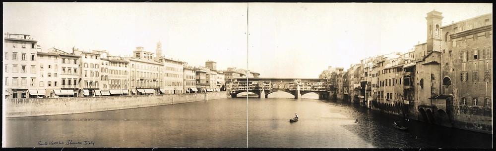 Ponte Vecchio em 1909