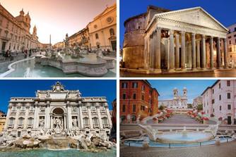 ROMA 1: PIAZZA NAVONNA, PANTHEON, FONTANA DE TREVI E PIAZZA DI SPAGNA
